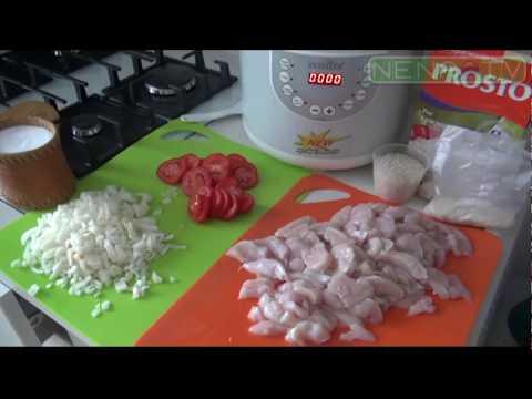 Куриные грудки с рисом и овощами в мультиварке