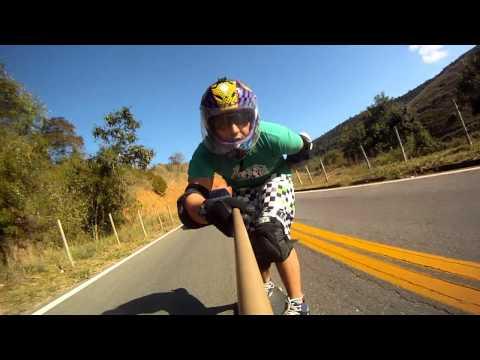 Aimorés - MG - Fernando Rubim - Skate Longboard Downhill Speed