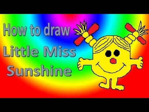 Little Miss Drawings Drawing Little Miss Sunshine