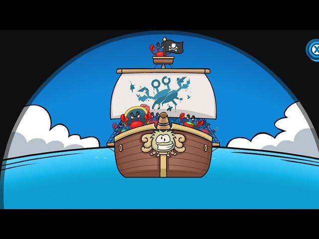 Club Penguin: Crab Pirates on the Migrator!