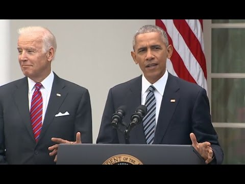 President Obama Full Speech on Donald Trump Win