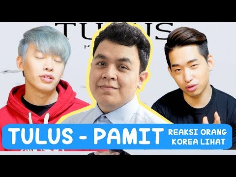 download lagu REAKSI ORANG KOREA LIHAT MV TULUS - PAMIT!! gratis