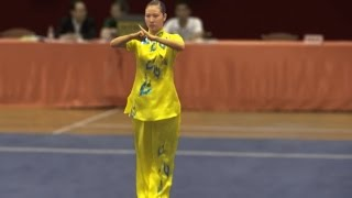 2011 China National Wushu Championships, Women Changquan, Anhui Ma Ling Juan 安徽 马灵娟