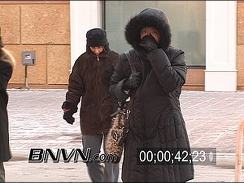 12/6/2005 Minneapolis, MN Sub Zero Weather Video