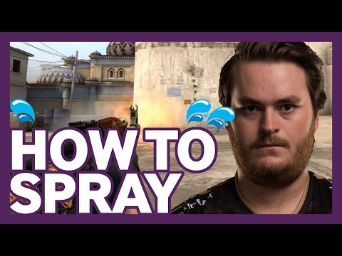 CSGO Tutorial: How and When To Spray by NiP friberg