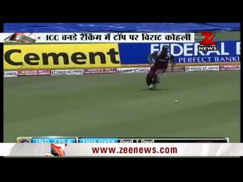 Virat Kohli becomes number-one ranked ODI batsman