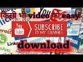 esa apps  jo kisi bhi video ko download krta hai secondo mea thumbnail