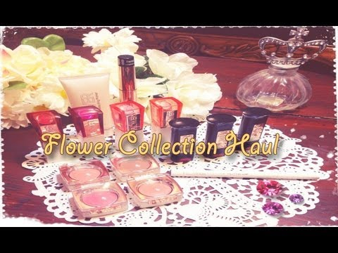 ❀ Drew Barrymore Flower Collection Haul & Swatches ❀