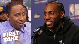 Kawhi and the Raptors must avoid a Game 7 vs. the Warriors at all costs - Stephen A. | First Take