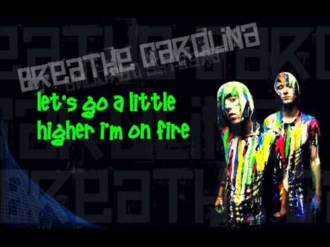 Breathe Carolina - Blackout (lyrics) Hq video