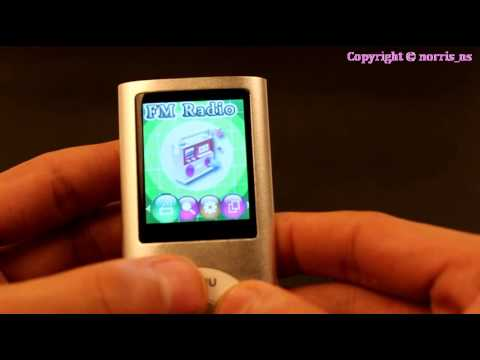 New 8GB MP3 MP4 Slim Player LCD Screen 4th Generation Video Movie FM Radio Games