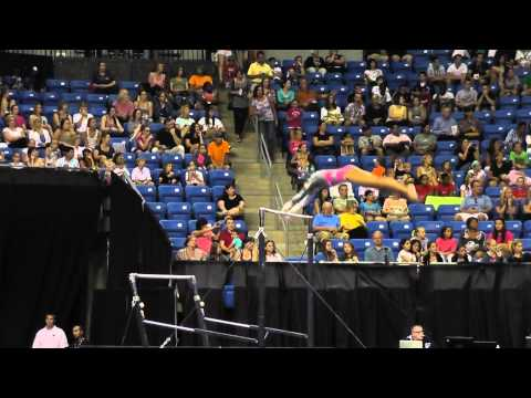 Brianna Brown - Bars - 2012 Visa Championships - Sr Women - Day 1