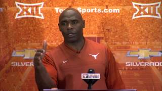 Charlie Strong Press Conference [March 23, 2015]