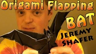 Fold A Flapping Bat! By Jeremy Shafer