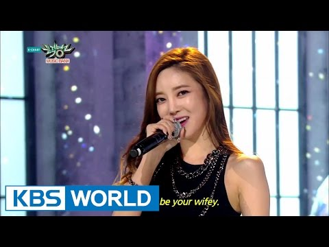 NS Yoon.G (NS 윤지) - Wifey [Music Bank COMEBACK / 2015.03.20]