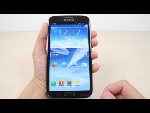 How to customize the ringtone and notification on Samsung Galaxy Note 2
