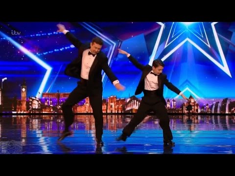 Britain's Got Talent 2017 John & Brandon Pohlhammer Father Son Dance Duo Full Audition S11E02