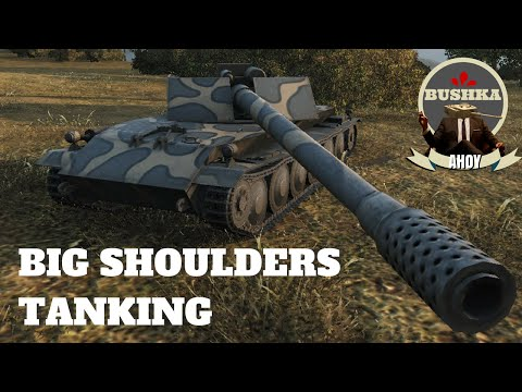 BIG SHOULDERS AND SUPER DERP - World of Tanks Blitz
