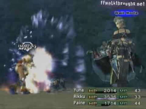 Final Fantasy X-2 - 042 - Tourist Trap & Boss: Dark Yojimbo