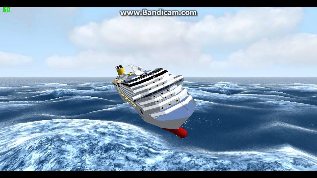Largest Cruise Ship To Sink Detlandcom - Sunken cruise ships