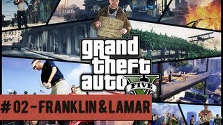 GTA V Playthrough: Mission 2 - Franklin and Lamar