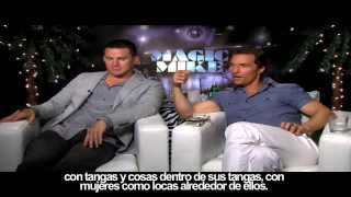 MAGIC MIKE - Entrevista con Channing Tatum y Matthew McConaughey
