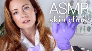 ASMR Skin Clinic Appointment | Scalp Inspection, Crinkle Coat