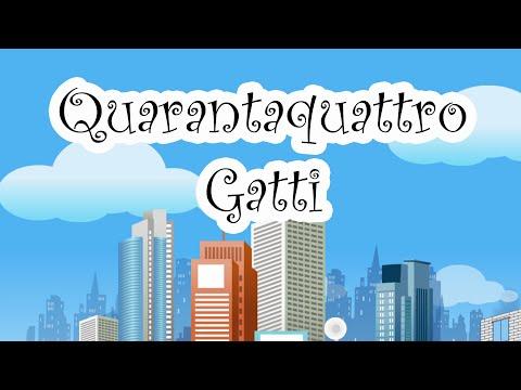 Canzoni Per Bambini - Quarantaquattro Gatti