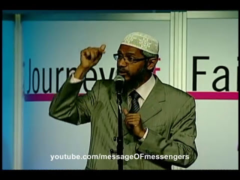 Zakir Naik - Christian accepts Islam after challenging Zakir Naik at an Islamic Conference!