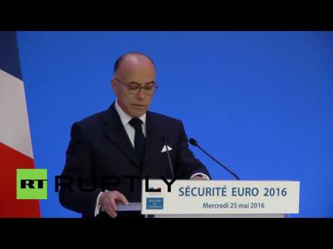 France: 90,000 security personnel to police Euro 2016 - minister