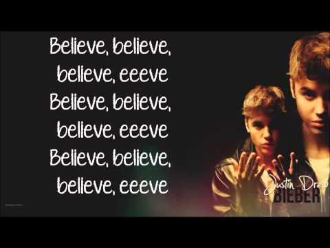 Lyrics | Make You Believe - Justin Bieber    Believe 2.0 video