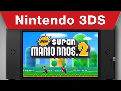 Nintendo 3DS - New Super Mario Bros 2 Info Video