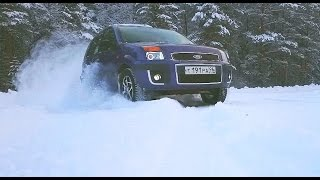 Ford Fusion Snow Fun 2015
