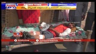 స్కూల్ డ్రెస్ వేసుకురాలేదని విద్యార్థి పై దాడి..! Uttar Pradesh | hmtv