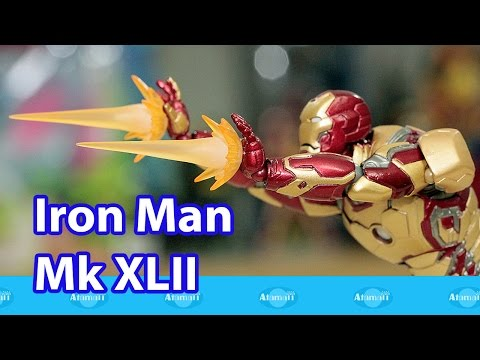 Iron Man MK XLII Armor Kaiyodo Toy Review