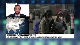 Coronavirus reaches the US as China struggles with pandemic fears, mounting death toll