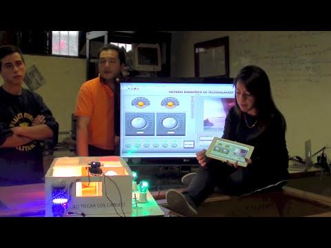 Control Domótico de Televigilancia con Arduino Controlled, Labview y MAC