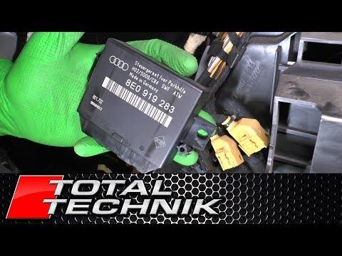 How to Remove Parking Sensor (PDC) ECU - Audi A6 S6 RS6 - C5 - 1997-2005 - TOTAL TECHNIK