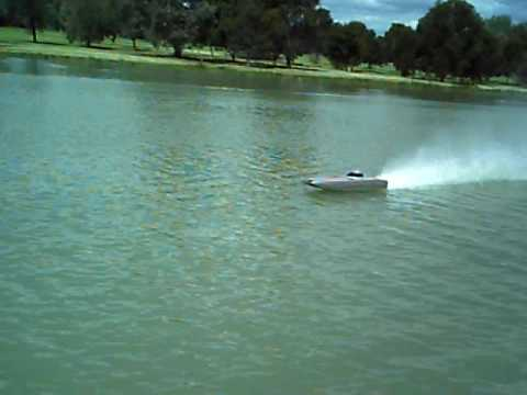 Arrow Shark Fighter rc boat twin brushless on 4S FAST! RC Boat Bitz