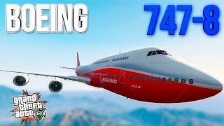 BOEING 747 - ГТА 5 МОДЫ (GTA 5 MODS) | BOEING 747-8i
