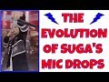 The Evolution of BTS' SUGA'S MIC DROPS: A Compilation