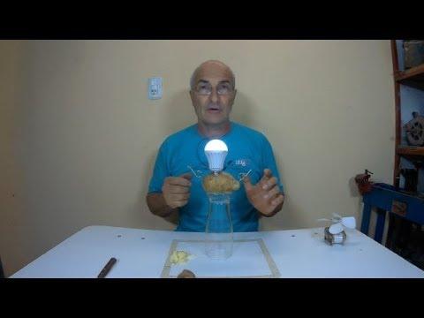 Free Energy: Como Iluminar Con Una Papa (desmiento El Video)/Free Energy: How To Shine With A Potato