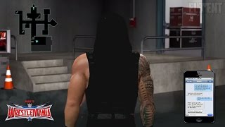 WWE 2K16 Road To Wrestlemania 32 Notion - Roman Reigns Story (concept)