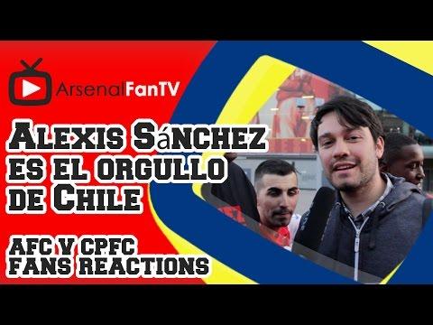 Alexis Sánchez es el orgullo de Chile - Arsenal 2 Crystal Palace 1