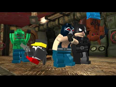 LEGO Batman: The Video Game All Cutscenes