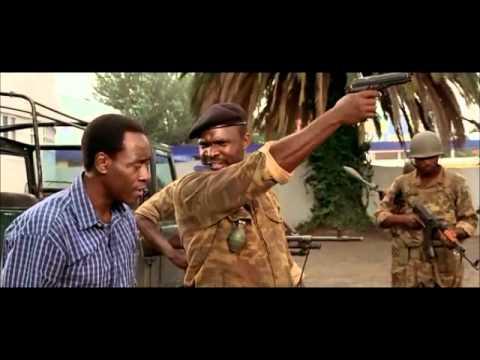 Hotel Rwanda - Negoziazione tra i ribelli ed un Direttore d'Hotel