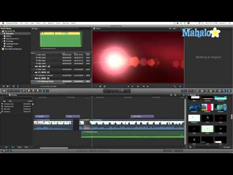 Effects Transitions - Final Cut Pro X