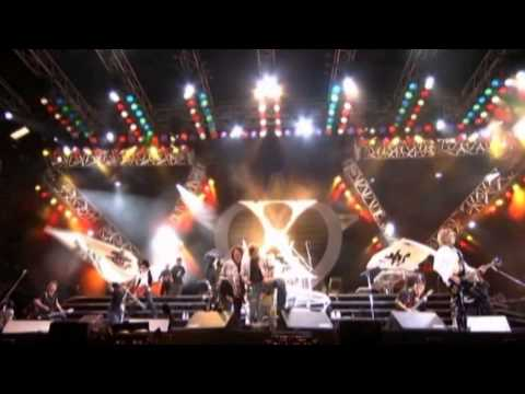 X Japan -「x」- [ Video Compilation Pv + Hide Memorial Summit (2008.5.4) ] video