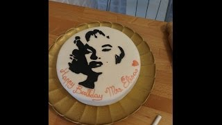 Video  tutorial: Torta Marylin Monroe