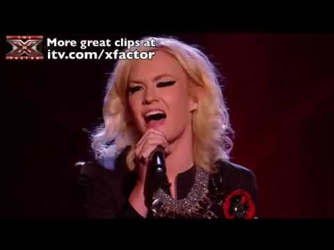 Kitty Brucknell - Beautiful Disaster - The X Factor 2011 Sing Off [Results Show 5]